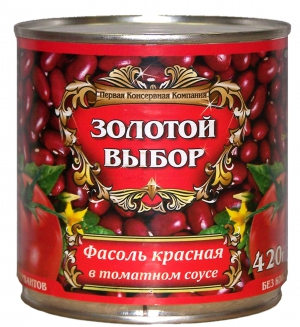 Фасоль красная в т/с 420г
