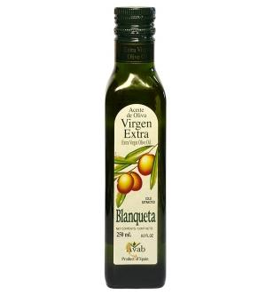 Оливковое масло Blanqueta Extra Virgin 250 мл., нерафинированное