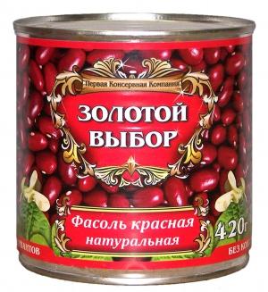 Фасоль красная 420г