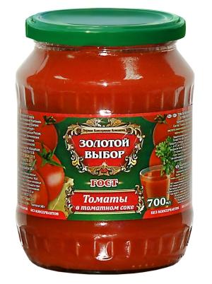 Томаты в томатном соке 680г