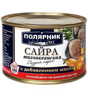 Сайра тихоокеанская с добавлением масла (Дальный Восток)