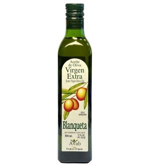 Оливковое масло Blanqueta Extra Virgin 500 мл., нерафинированное