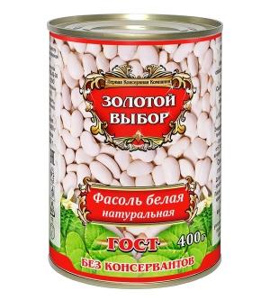 Фасоль белая натуральная 400г