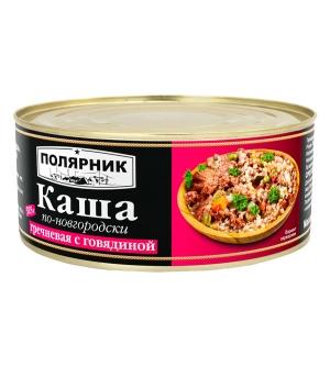 Каша по-новгородски гречневая с говядиной 325 г