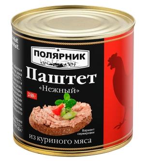 Паштет «Нежный»  из куриного мяса 240 г